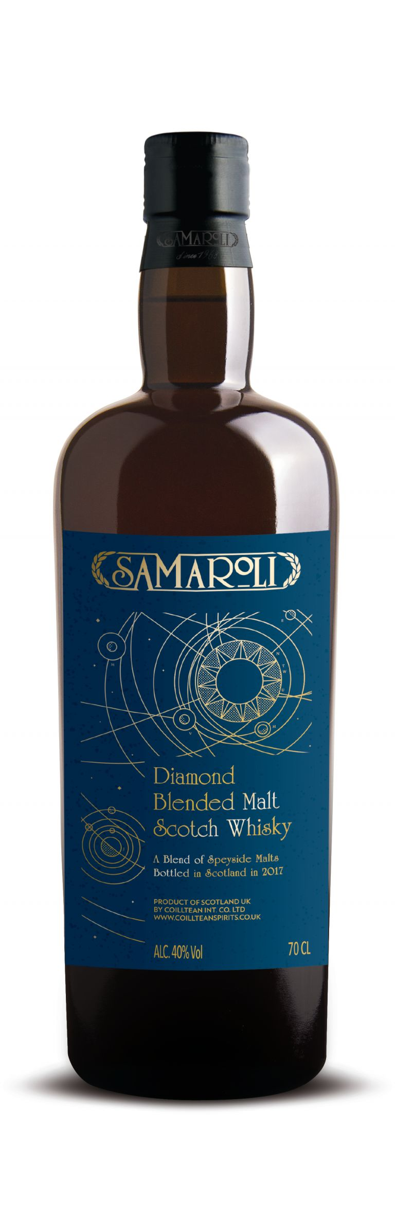 Samaroli Diamond - Blended Malt Scotch Whisky - ed. 2017 - 70 cl