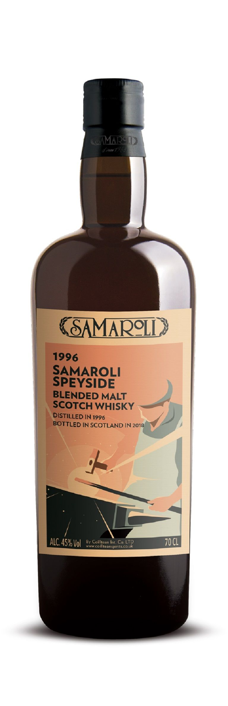 1996 Speyside - Blended Malt Scotch Whisky - ed. 2018 - 70 cl