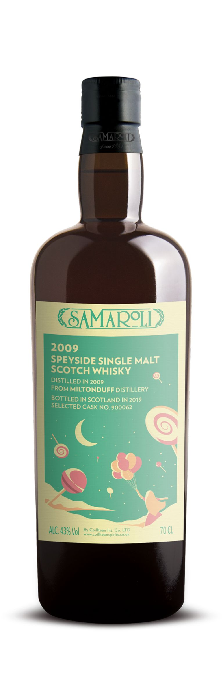 2009 Miltonduff - Speyside Single Malt Scotch Whisky - ed. 2019 - 70 cl
