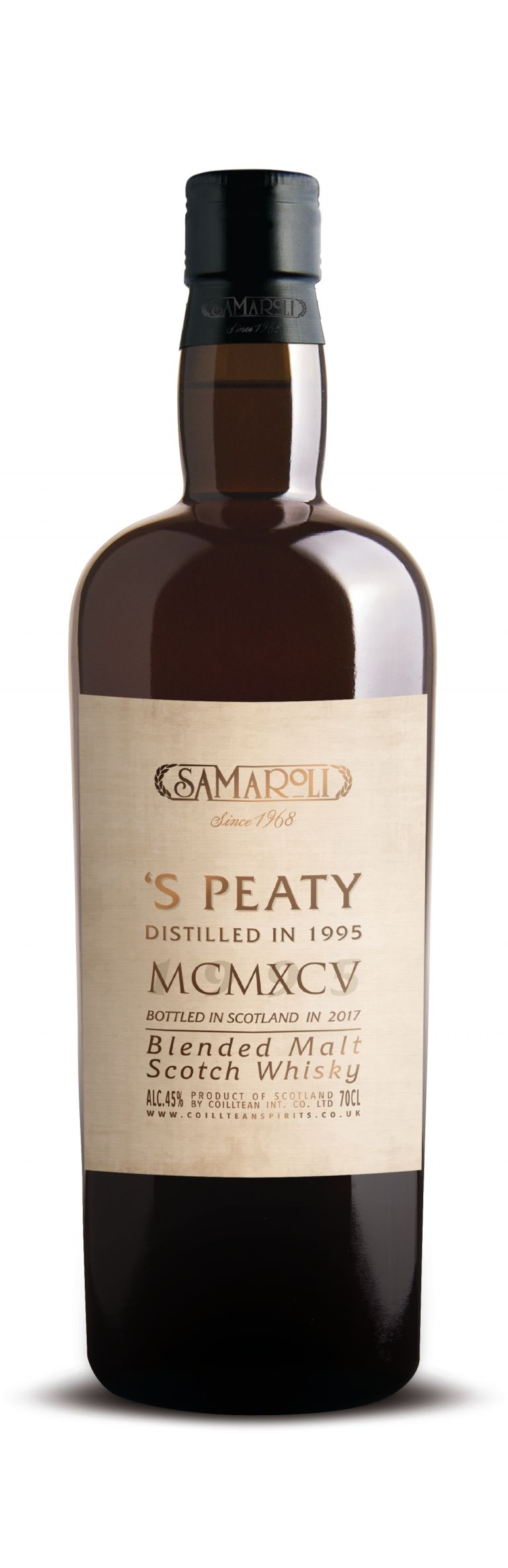 1995 'S Peaty - Blended Malt Scotch Whisky - ed. 2017 - 70 cl