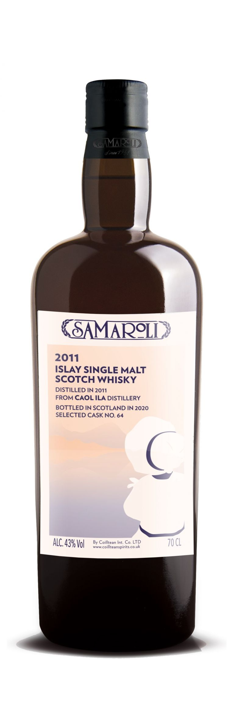 2011 Caol Ila - Islay Single Malt Scotch Whisky - ed. 2020 - 70 cl