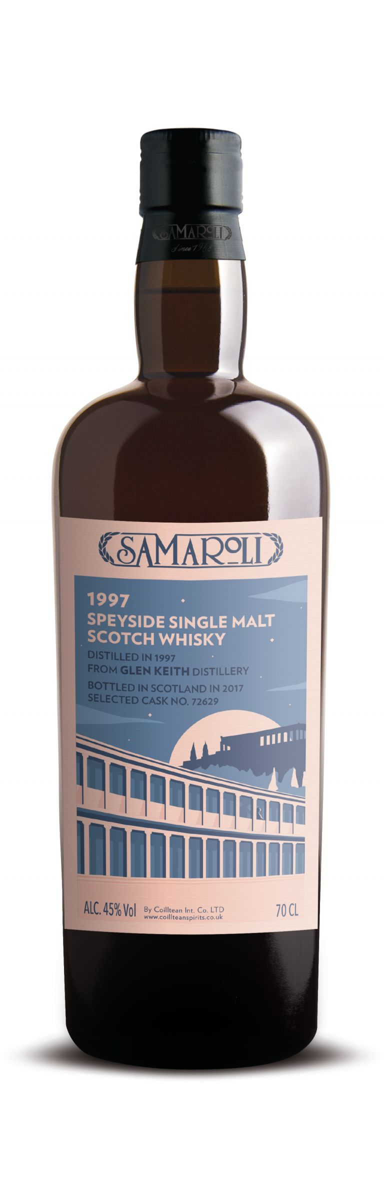 1997 Glen Keith - Speyside Single Malt Scotch Whisky - ed. 2017 - 70 cl