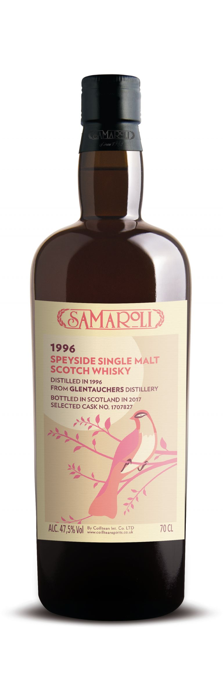 1996 Glentauchers - Speyside Single Malt Scotch Whisky - ed. 2017 - 70 cl