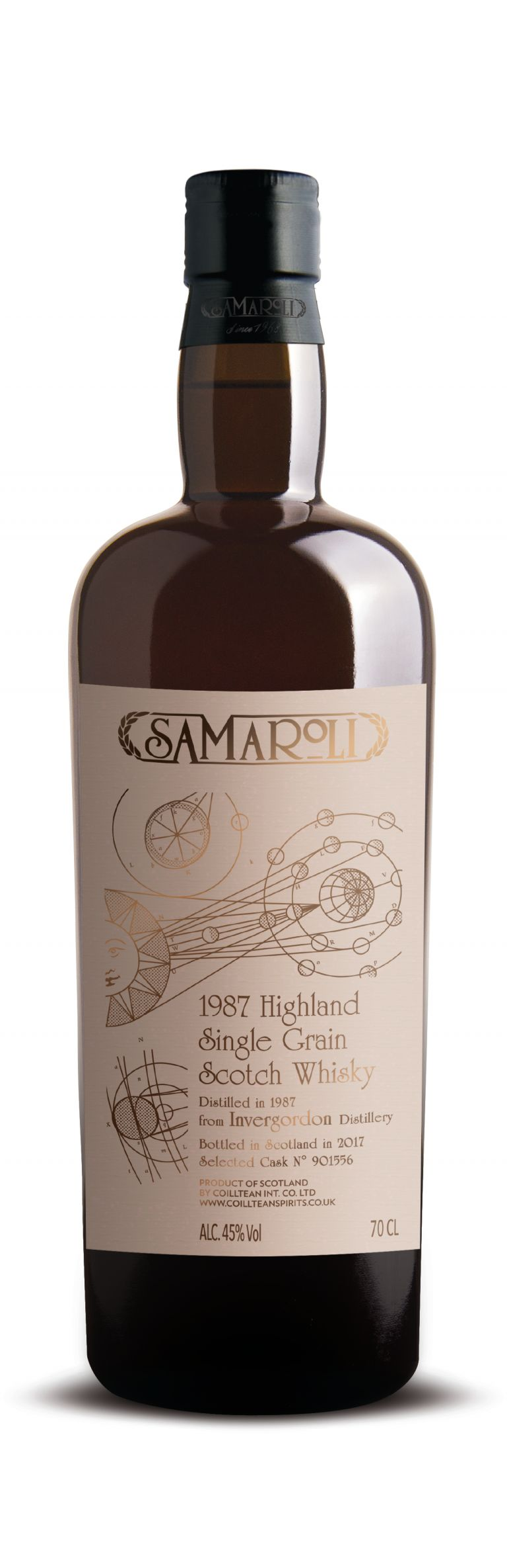 1987 Invergordon - Highland Single Grain Scotch Whisky - ed. 2017 - 70 cl