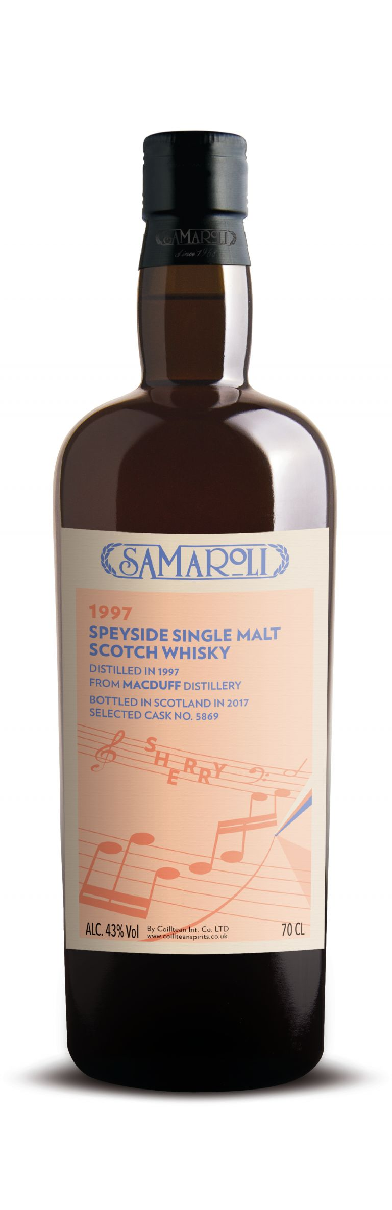 1997 Macduff Sherry - Speyside Single Malt Scotch Whisky - ed. 2017 - 70 cl