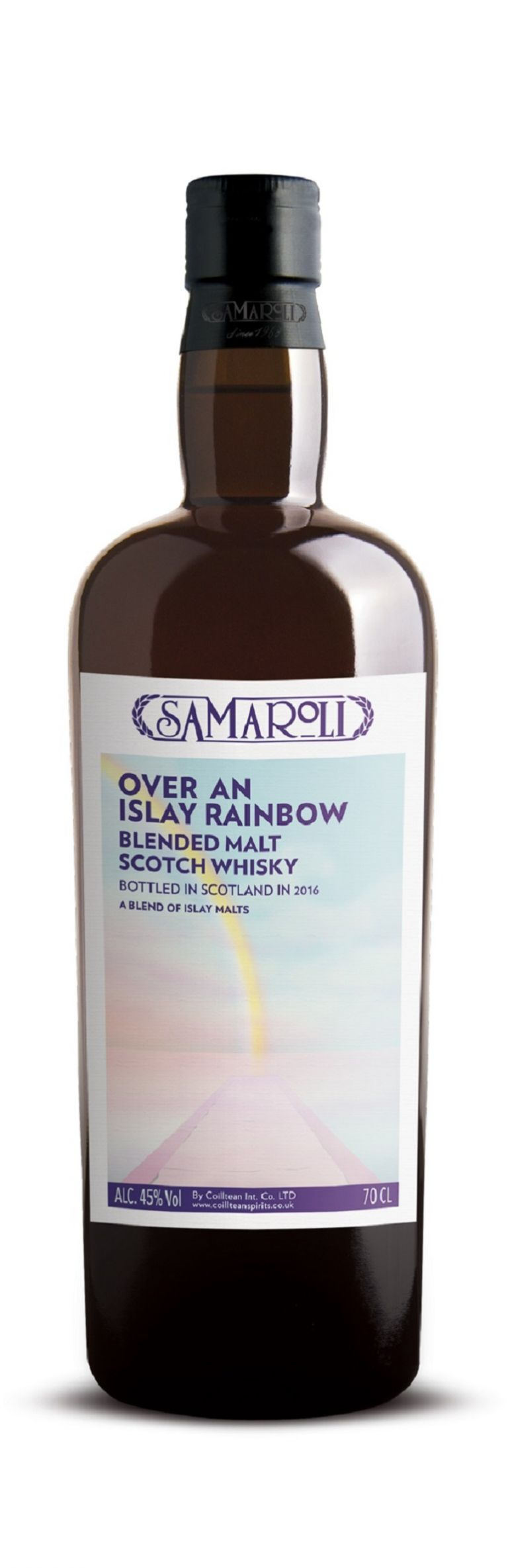 Over An Islay Rainbow - Blended Malt Scotch Whisky - ed. 2016 - 70 cl