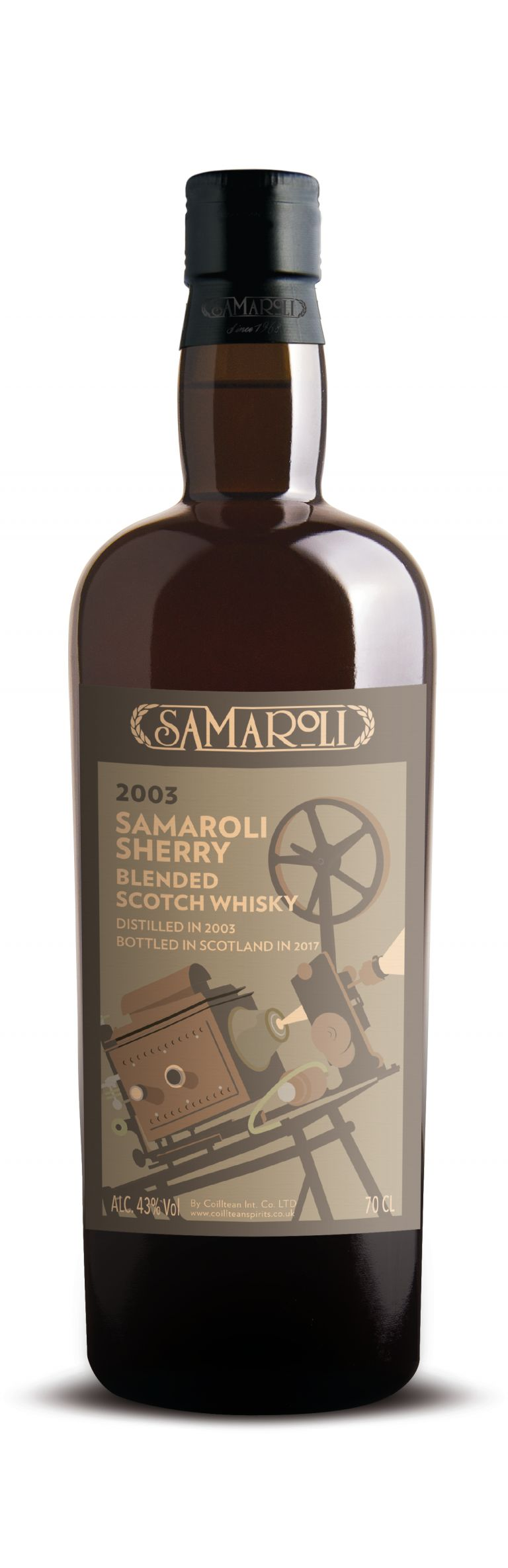 2003 Sherry - Blended Scotch Whisky - ed. 2017 - 70 cl