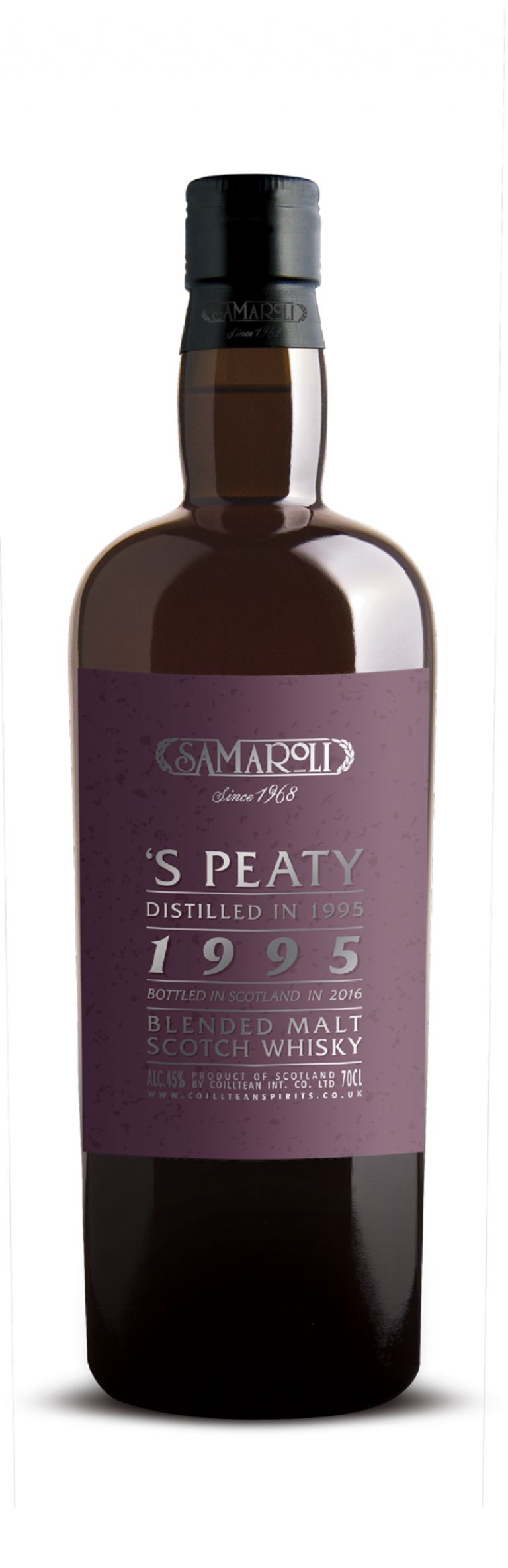 1995 'S Peaty - Blended Malt Scotch Whisky - ed. 2016 - 70 cl